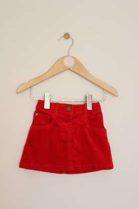 Next red cord skirt (age 3-6 months)