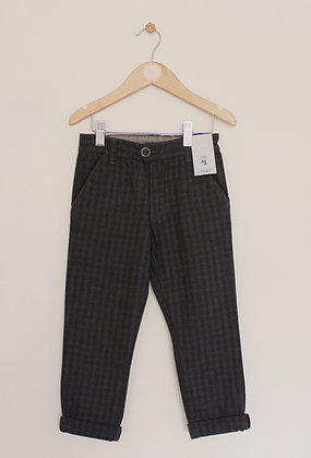 BNWT TU checked woven black trousers (age 4)
