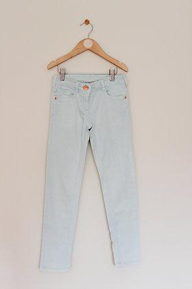 Next pale mint skinny jeans (age 8)