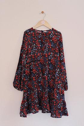 Next floral print viscose dress (age 8)