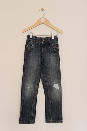 Next ripped knee jeans (age 5)