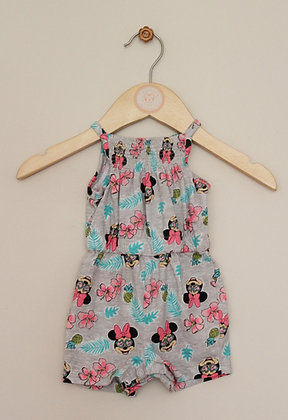 Disney by Primark Minnie Mouse playsuit (age 0-3 months)