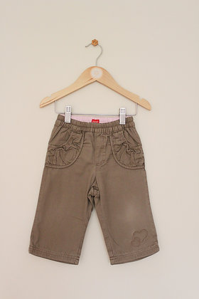 Esprit jersey lined pull on trousers (age 9 months)