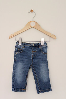 Bluezoo elasticated waist jeans (age 3-6 months)