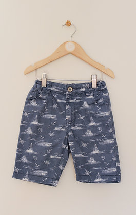 TU nautical themed cotton shorts (age 4)