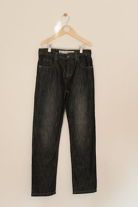 Denim Co black straight fit jeans (age 10-11)
