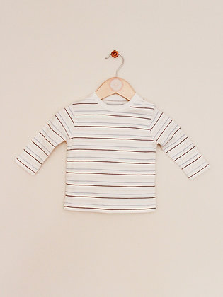 George striped long sleeved top (age 3-6 months)