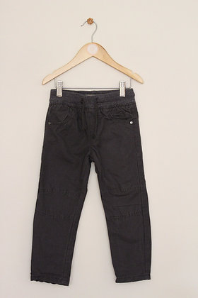 Denim Co pull on jersey lined combat style trousers (age 3-4)