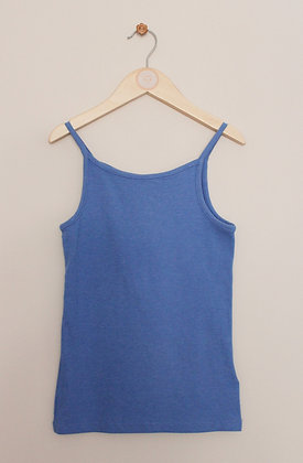 4 x Next strappy jersey vest tops (age 8)