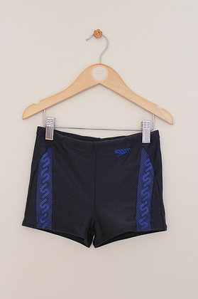 Navy Speedo swimming shorts (age 8-10)