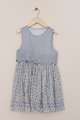 Mothercare cotton mock top dress (age 8)