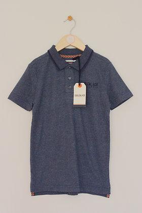 BNWT SoulCal & Co blue jersey polo shirt (age 9-10)
