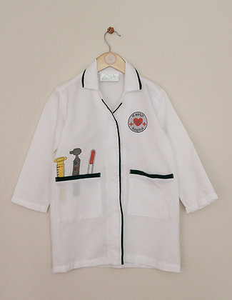 Early Learning Centre doctors jacket (age 5-6)