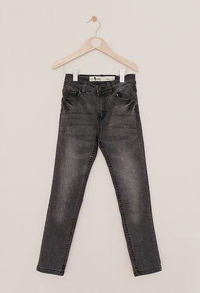 Denim Co black skinny jeans (age 7-8)