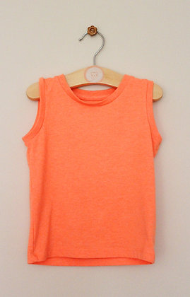 Matalan orange fluro vest top (age 9-12 months)