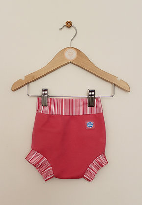 Splash About pink Happy Nappy (Med / 3-6 months)
