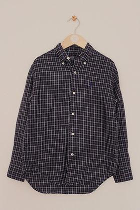 Polo Ralph Lauren navy checked shirt (age 6)