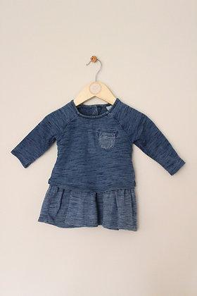 Next layered jersey dress (age 3-6 months)