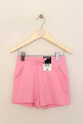 George pink jersey pull on shorts (age 2-3)