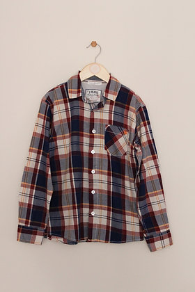 Jasper Conran checked cotton shirt (age 10)