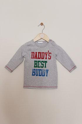 Next 'Daddy's best buddy' top (age 6-9 months)