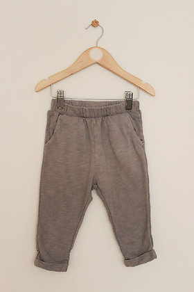 H&M grey harem style trousers (age 12-18 months)