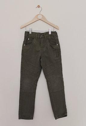 M&Co khaki cotton trousers (age 6-7)