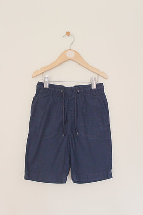 M&S navy lightweight pull on shorts  (age 7-8)