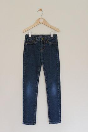 Gap super skinny dark wash jeans (age 8-9)