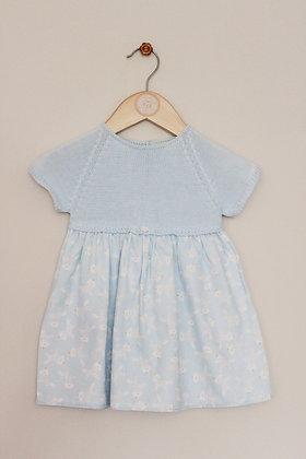 Wedoble pale blue unicorn mix and match dress (age 12 months)