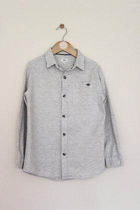 River Island neutral shirt (age 7-8)