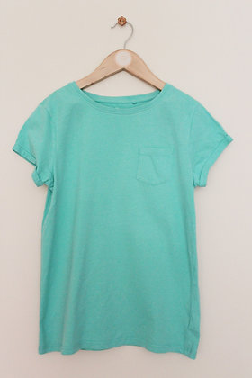 Next green t-shirt with pocket (age 12)