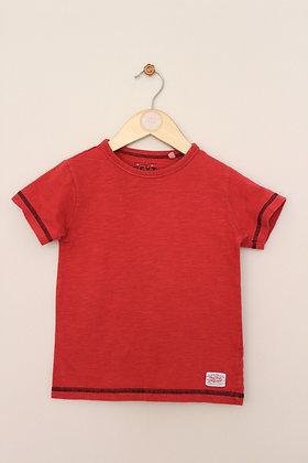 Next rust short sleeved t-shirt (age 2-3)