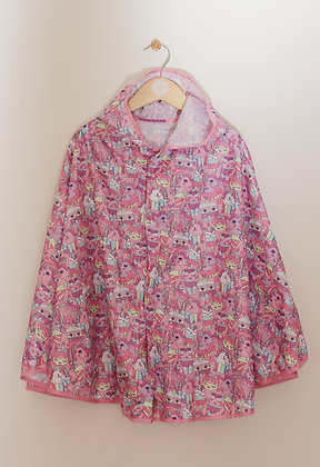 Smiggle pack away hooded rain poncho One size