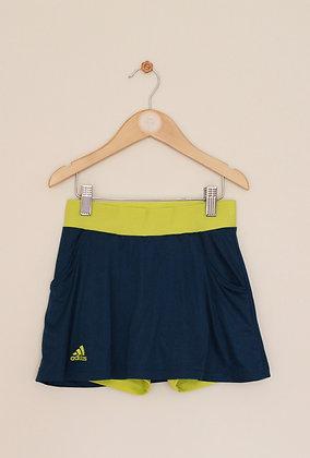 Adidas teal Climalite skort (age 9-10)