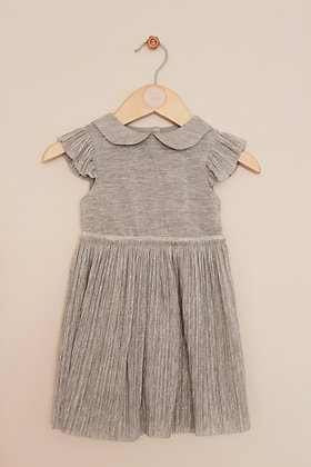 Mothercare silver sparkly dress (age 6-9 months)