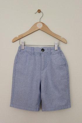 Primark pale blue chino shorts (age 6-7)