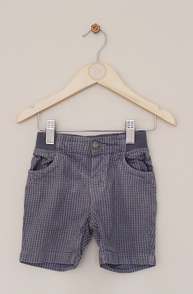 H&M grey thick cotton shorts (age 12-18 months)