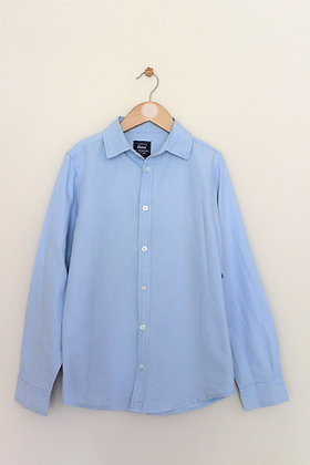 Rebel by Primark blue long sleeved shirt (age 11-12)