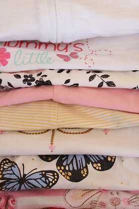 Girls 3-6 months 'Too Good to Throw' summer bundle