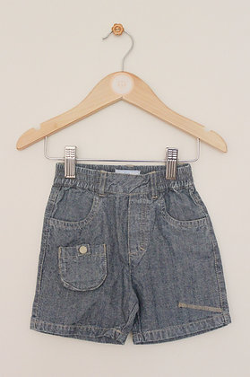 Colin & Colline (Vertbaudet) denim shorts (age 6-9 months)