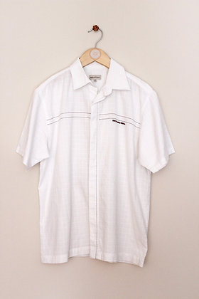 John Rocha short sleeved textured shirt with feature stitching (age 11-12)