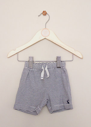 Joules jersey striped pull on shorts (age 3-6 months)