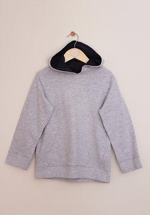 Urban Rascals grey lightweight hooded sweatshirt (age 6)