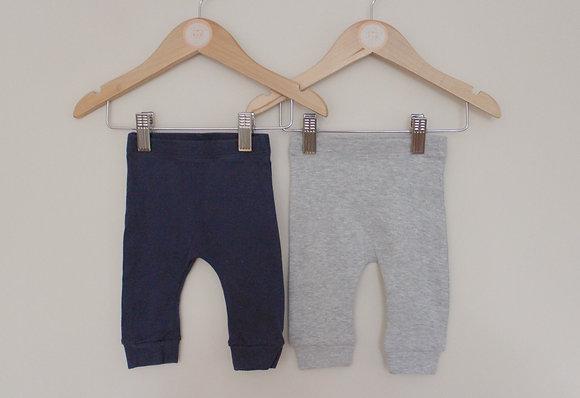 2 pairs of Matalan leggings (age 0-3 months)