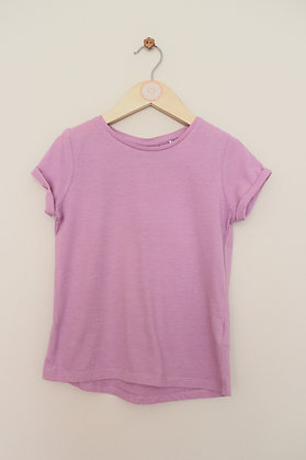 Next lilac short sleeve t-shirt (age 5-6)