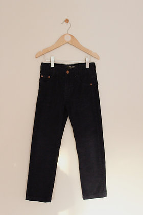 Zara navy blue corduroy trousers (age 4-5)