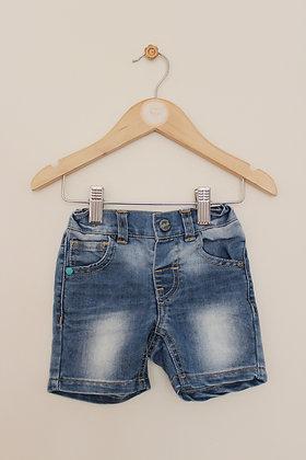 Next denim shorts (age 6-9 months)