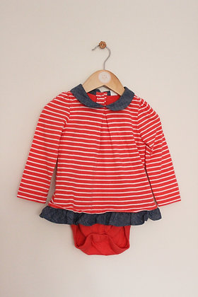 Baby Gap layered long sleeved body suit. (age 12-18 months)