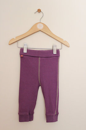 M&S purple ribbed joggers (age 6-9 months)